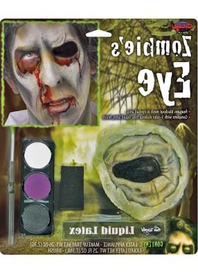 Набор для грима зомби без глаза