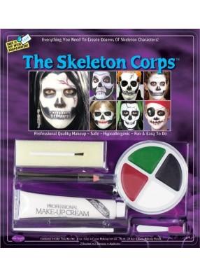 Набор для грима скелета фото