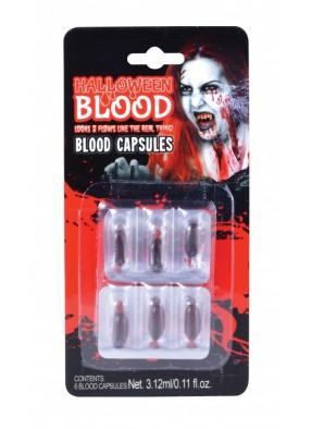 Набор капсул с кровью