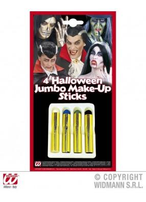 Набор карандашей для макияжа на Хэллоуин