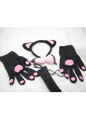 Набор кошки с перчатками