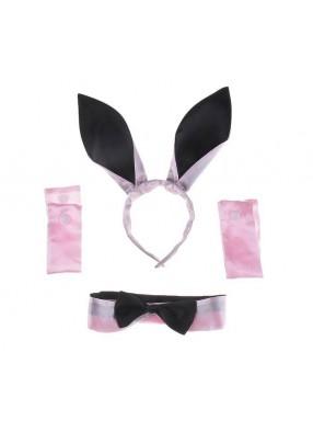 Набор кролика розовый фото
