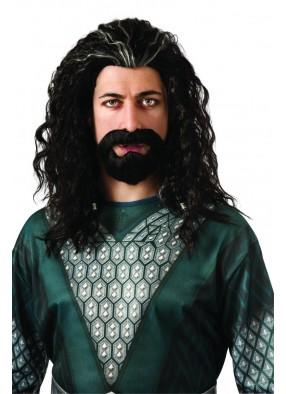 Набор парик и борода Торина взрослый