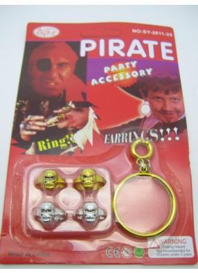 Набор украшений для пирата