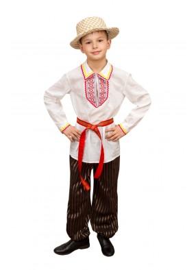 Национальный белорусский костюм для мальчика