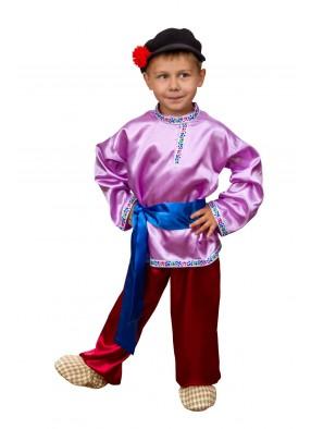 Национальный костюм Иванушки для мальчика