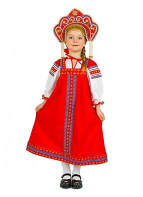 Национальный костюм из льна