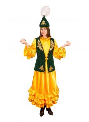 Национальный костюм казашки