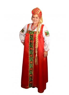 Национальный костюм марфы