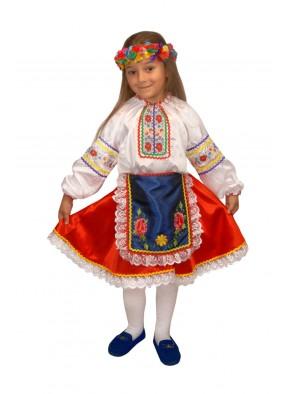Национальный украинский костюм для девочки