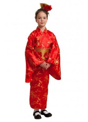 Национальный японский костюм для девочки