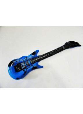 Надувная гитара синяя
