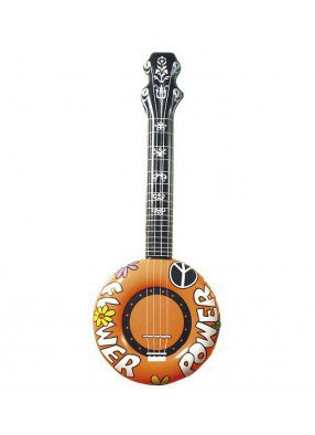 Надувное банджо Хиппи 1 фото
