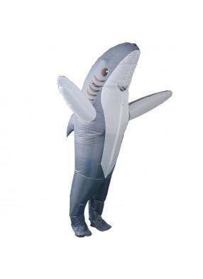 Надувной костюм акулы