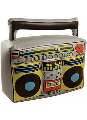 Надувной магнитофон с радиоприемником
