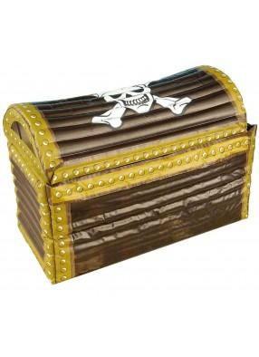 Надувной пиратский сундук