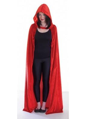 Накидка вампира велюровая красная