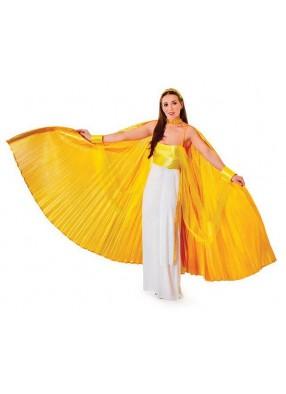 Накидка золотые крылья