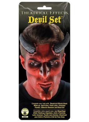 Накладки на подбородок и нос для дьявола
