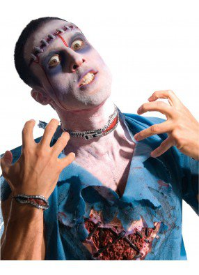 Накладная молния-шрам для зомби