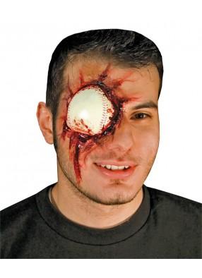 Накладной мячик вместо глаза