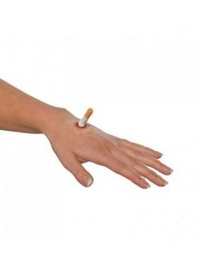 Накладной ожог сигаретой