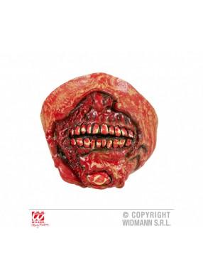 Накладной рот зомби из латекса