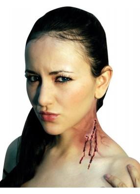 Накладной укус клыками