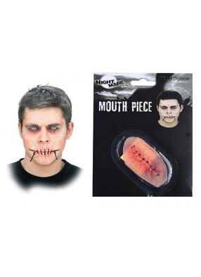 Накладной зашитый рот