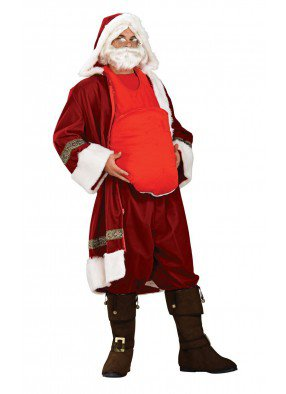 Накладной живот Санта Клауса STD (48-50) Rub