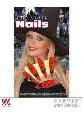 Накладные ногти ведьмы на Хэллоуин
