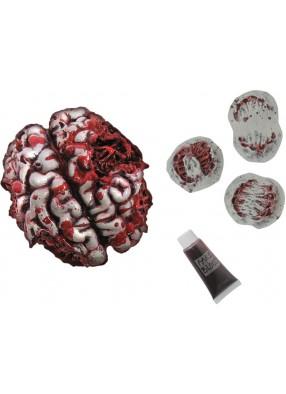 Накладные шрамы и мозг для зомби