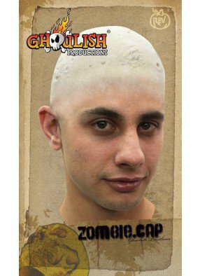 Наклейка лысина зомби