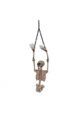 Настенный скелет для хэллоуина