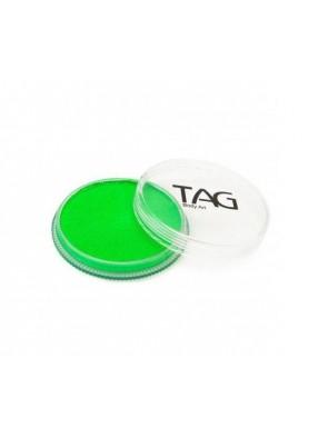 Неоновый зеленый аквагрим