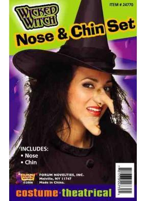 Нос и подбородок ведьмы