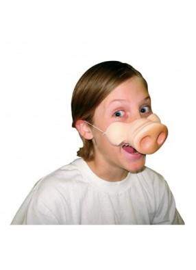 Нос пяточком со щечками