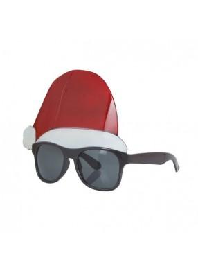 Новогодние очки с колпаком