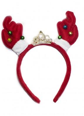 Новогодние рожки с короной фото