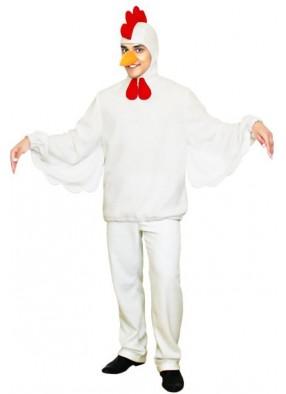 Новогодний костюм белого Петуха