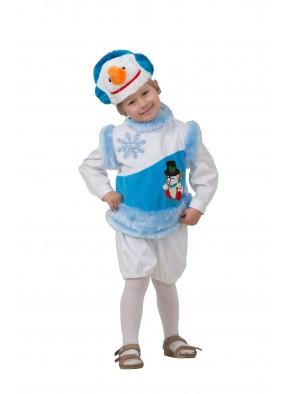 Новогодний костюм снеговика фото