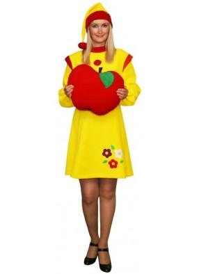 Новогодний костюм желтого Гнома