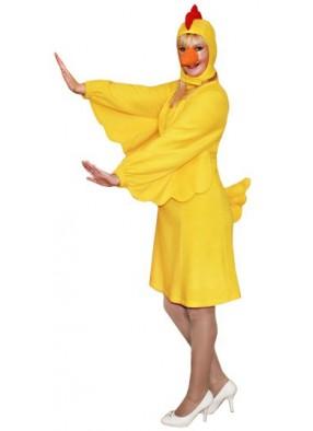 Новогодний костюм желтой Курицы