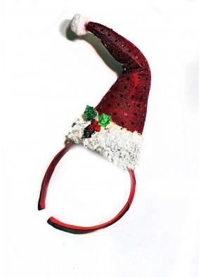 Новогодний ободок Колпак Санты фото