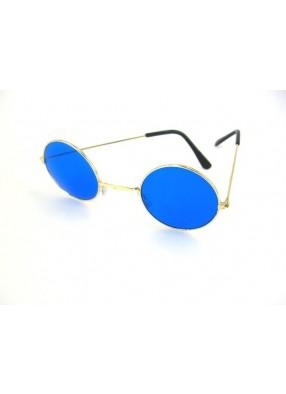 Очки Леннона голубые
