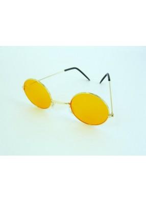 Очки Леннона оранжевые