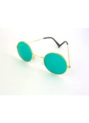 Очки Леннона зеленые
