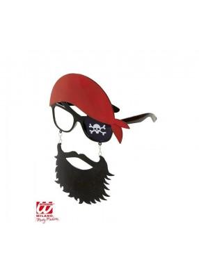 Очки пирата с бородой