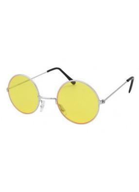 Очки в стиле Джона Леннона желтые