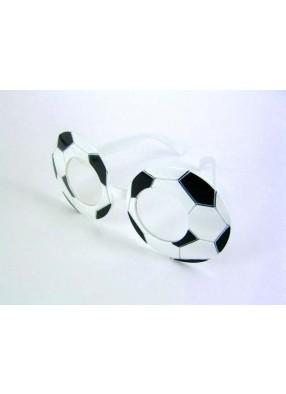 Очки в виде футбольных мячей